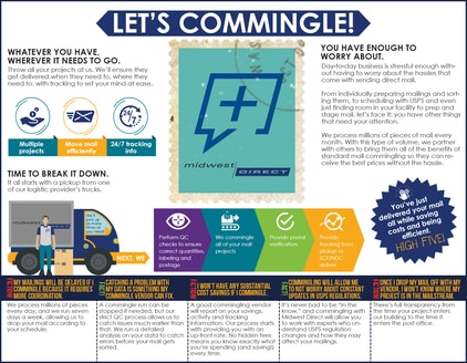 commingle direct mail