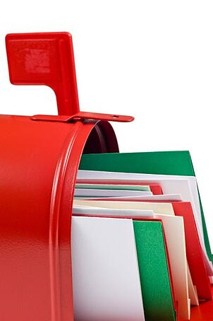 A very merry mailbox how to send business holiday cards clients and concise ideas for business holiday messages business holiday cards for customers and clients colourmoves