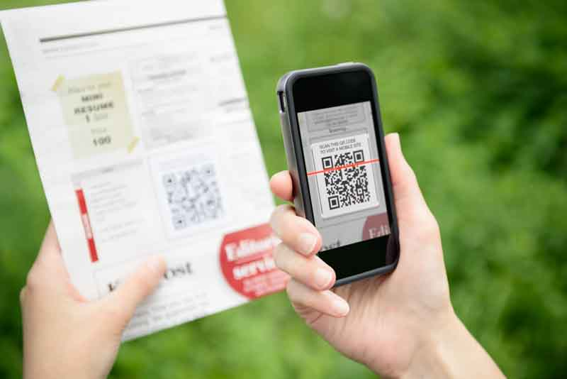 qr codes iphone